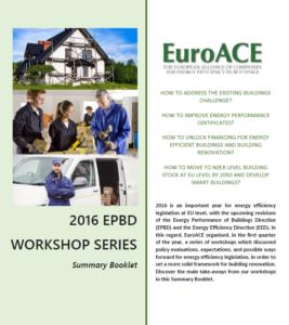 EPBD Workshops Summary Booklet
